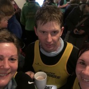 Nat, Ant & Georgie @ NYD Hangover 5 mile