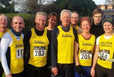 19 of us turned out for the Queens Head 5k organised by Dave Denton, Dec27th