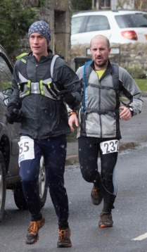 Andrew and James ploughing ahead in tough conditions